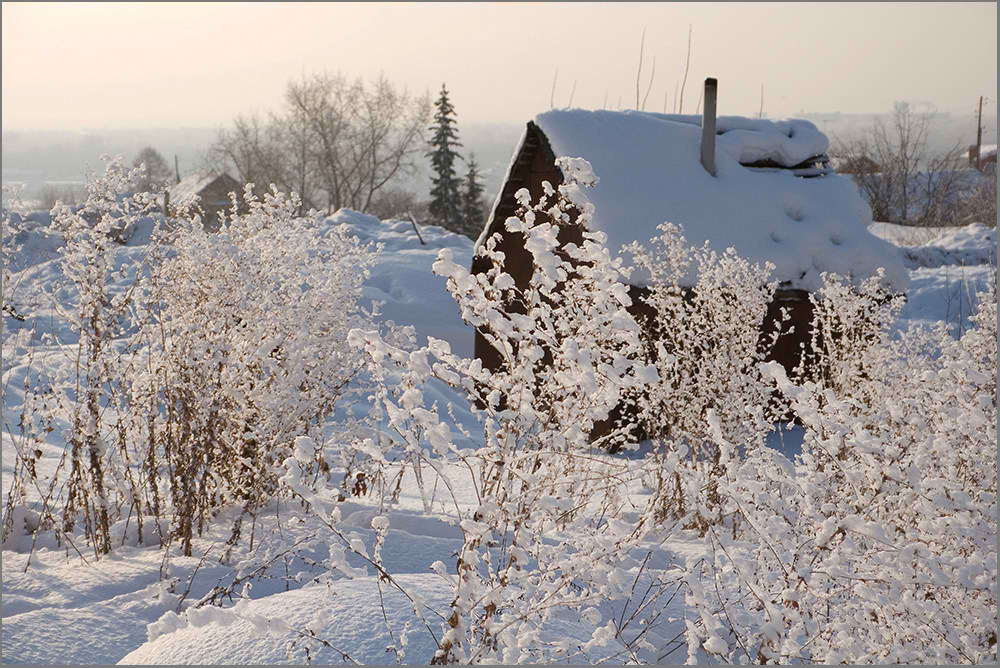 "фото ""Мороз и солнце..."" метки: пейзаж, зима"