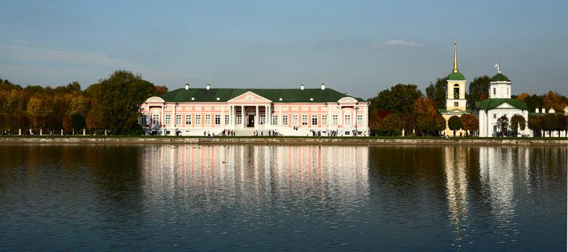 "фото ""Осень в Кусково (Москва)"" метки: пейзаж, путешествия, Европа, осень"