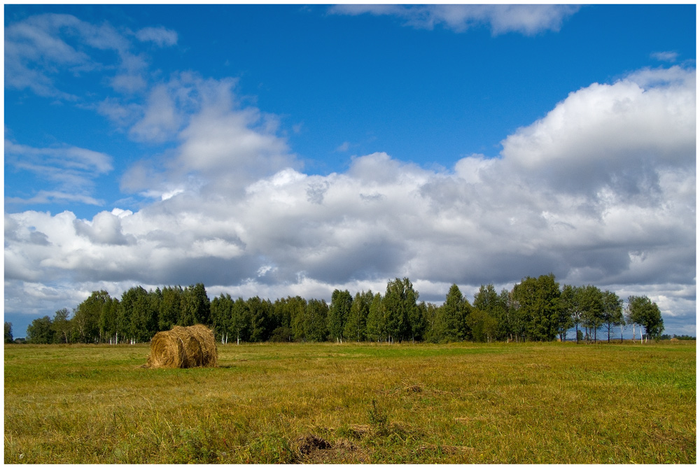 """фото """"Август"""" метки: пейзаж, лето, облака"""