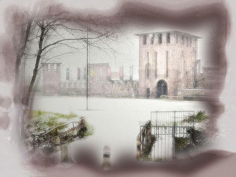 "photo ""Legnano's castle"" tags: architecture, landscape,"