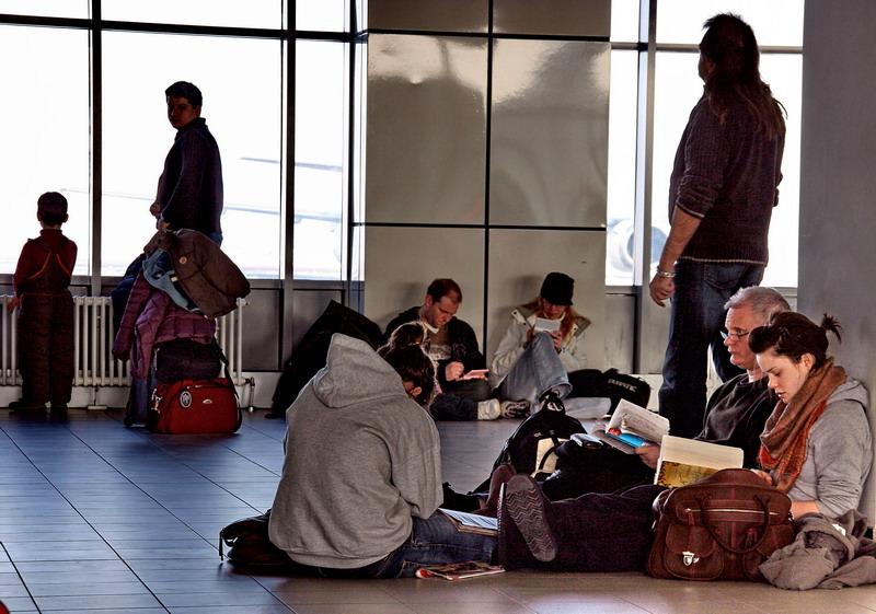 """фото """"в ожидании рейса"""" метки: путешествия, репортаж, Европа"""