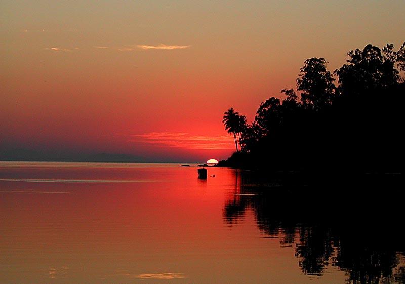 "фото ""Paradise"" метки: пейзаж, закат"