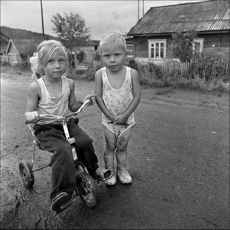 "photo ""Marie and Egor"" tags: portrait, children"