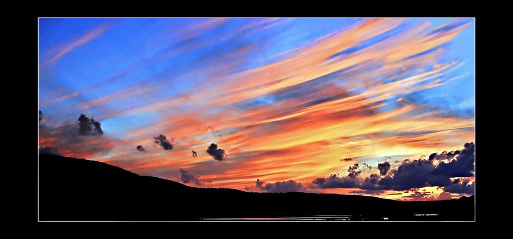 """фото """"на закате дня"""" метки: пейзаж, закат, ночь"""