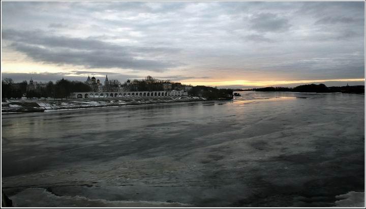 "фото ""серое утро"" метки: пейзаж, город, зима"