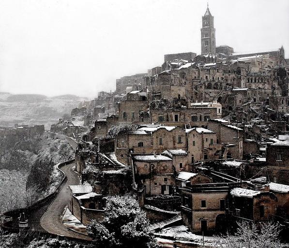 """фото """"волшебный город..который есть"""" метки: пейзаж, путешествия, Европа, зима"""