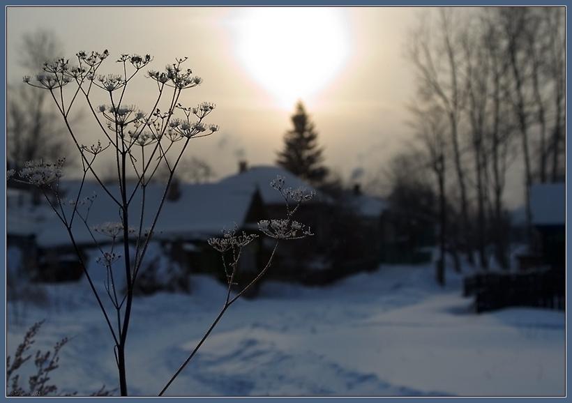 """фото """"Рождественская открытка"""" метки: пейзаж, зима"""