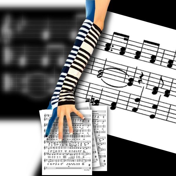 "фото ""La music"" метки: фотомонтаж,"