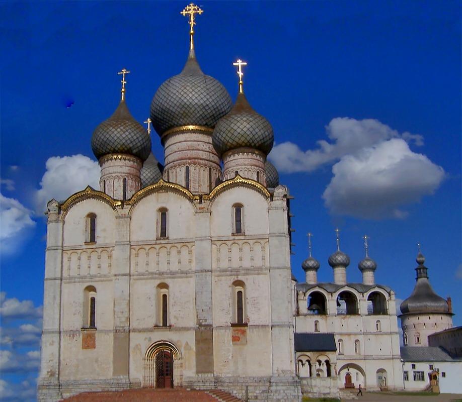 """фото """"Исполин Кремля Ростова Великого"""" метки: путешествия,"""