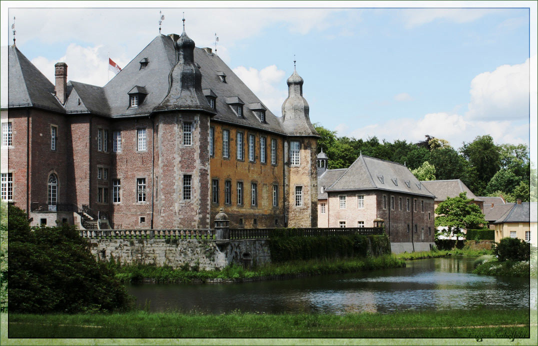 "photo ""Schloss Dyck2"" tags: landscape, travel, Europe"