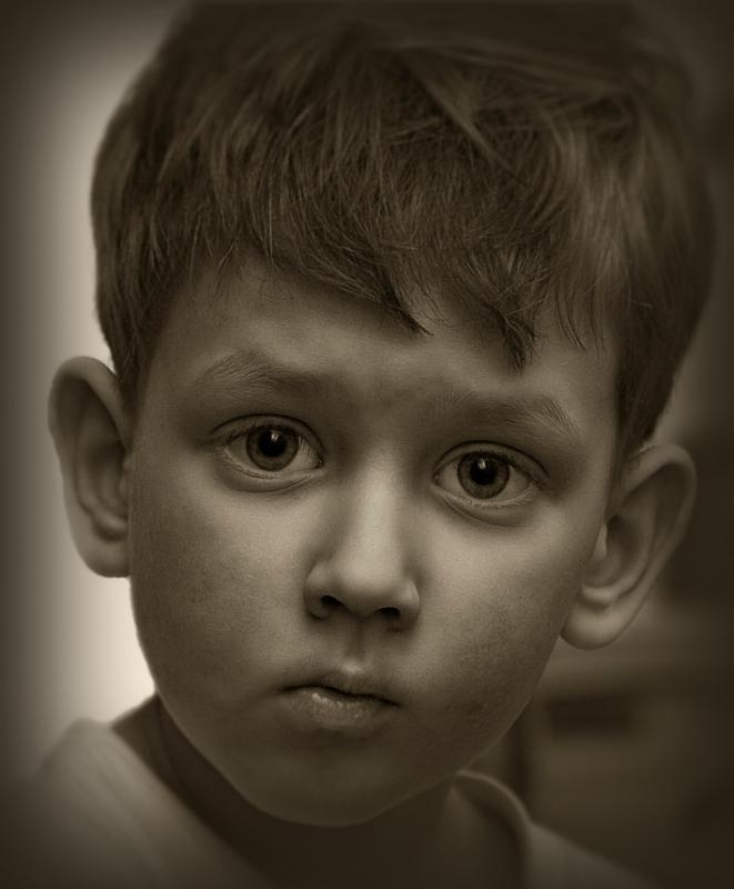 "фото ""Данька"" метки: портрет, дети"