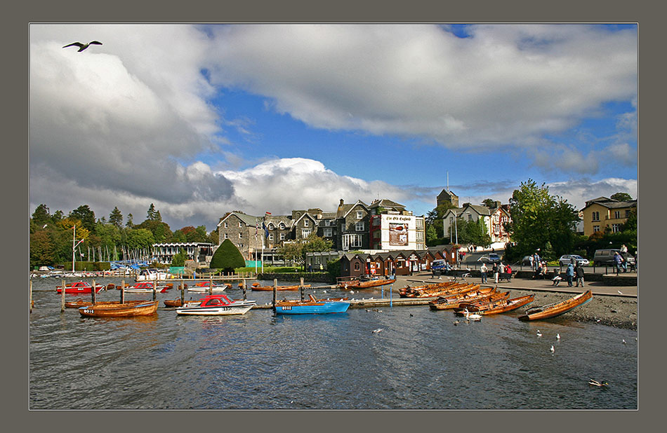 "photo ""Windermere."" tags: landscape, travel, Europe, water"