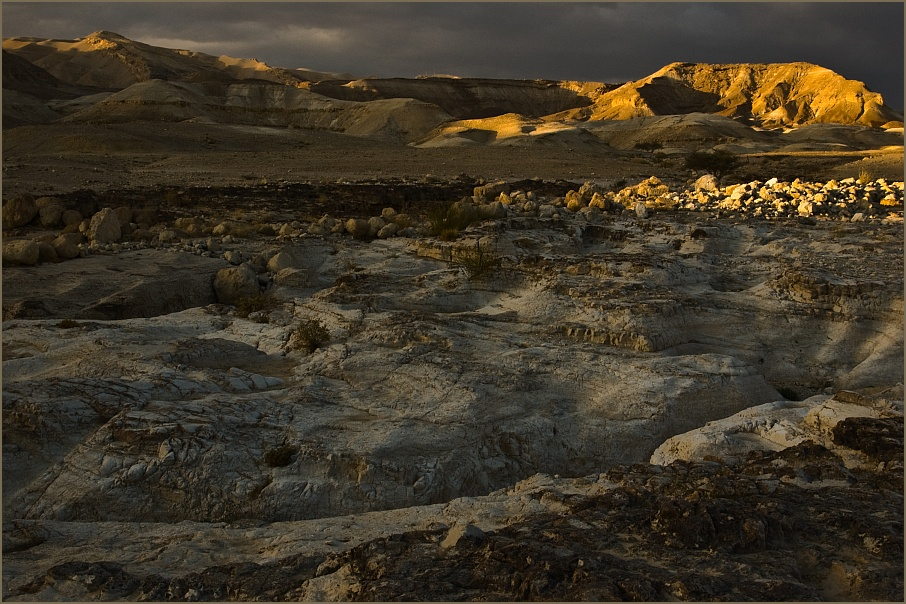 "photo ""Nightfall in Negev"" tags: landscape,"