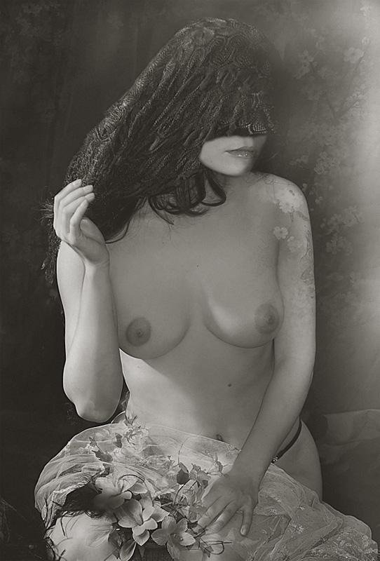 """фото """"Незнакомка"""" метки: черно-белые, ню,"""