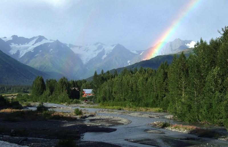 """фото """"Радуга"""" метки: пейзаж, путешествия, Северная Америка, горы"""