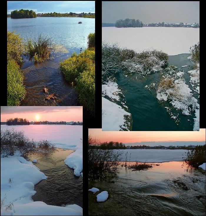 "фото ""Времена года"" метки: пейзаж, зима, лето"