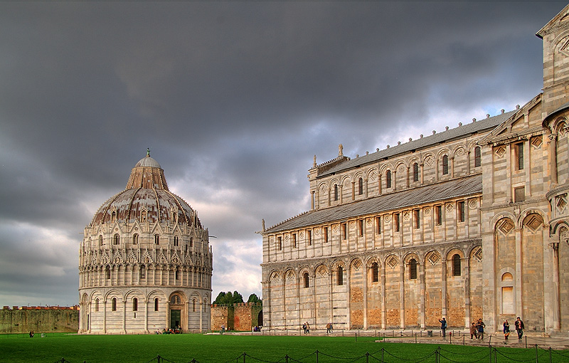 "photo ""Baptistery, Pisa"" tags: architecture, city, landscape,"
