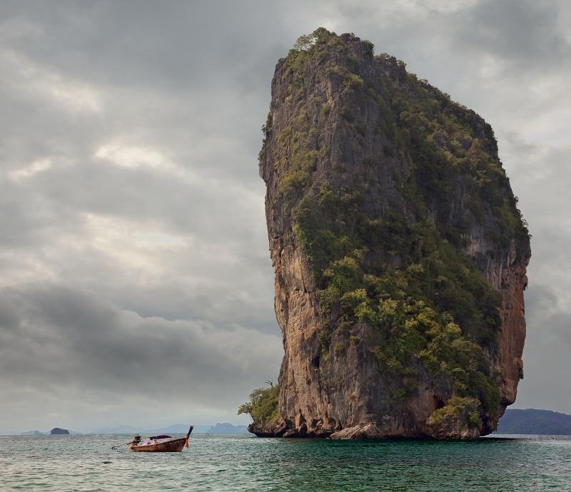 """фото """"Слон и моська"""" метки: пейзаж, путешествия, Азия, вода"""