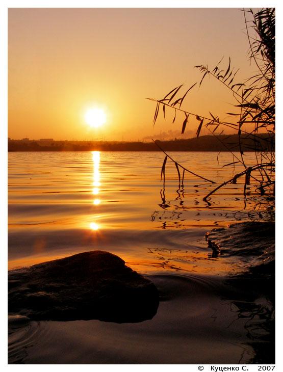 """фото """"Тишина"""" метки: пейзаж, закат"""