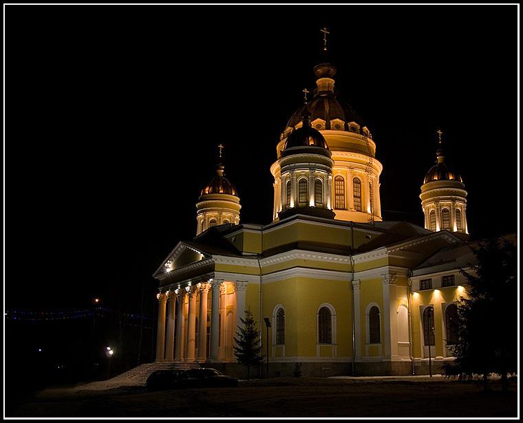 """фото """"Вечерний Рыбинск.."""" метки: архитектура, пейзаж,"""