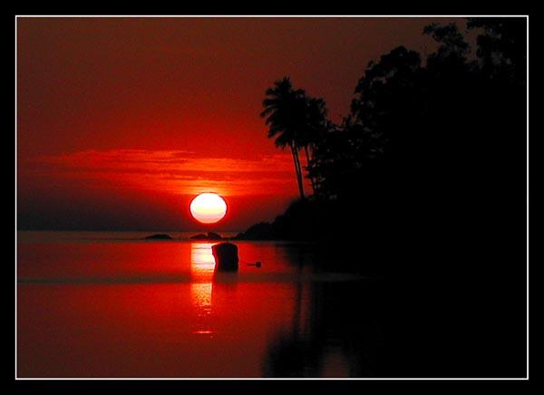 """фото """"Sunrise in paradise II"""" метки: пейзаж, закат"""