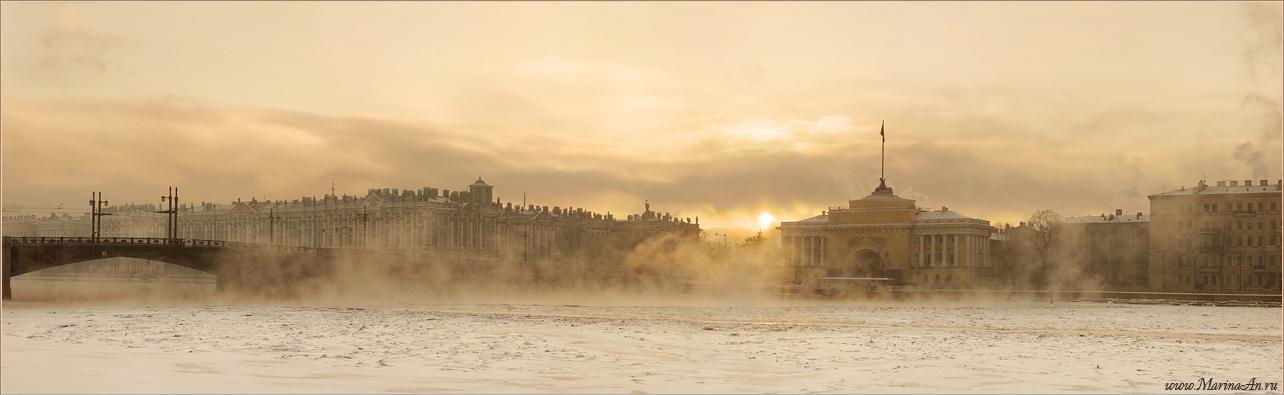 """фото """"Зимний Петербург"""" метки: панорама,"""