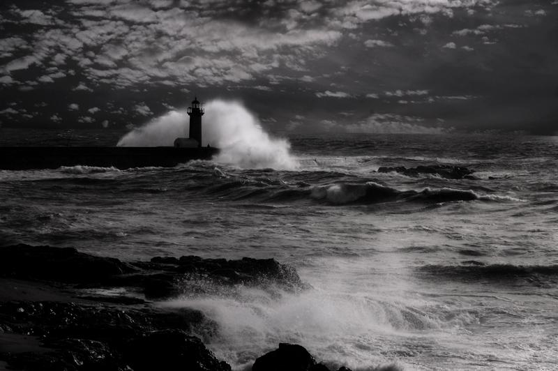 """фото """"The storm"""" метки: пейзаж,"""