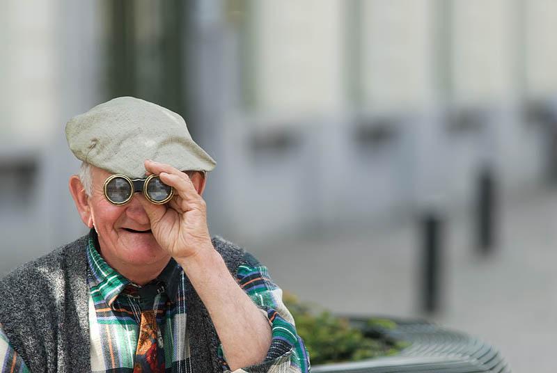 "photo ""I see you!!!!"" tags: portrait, man"