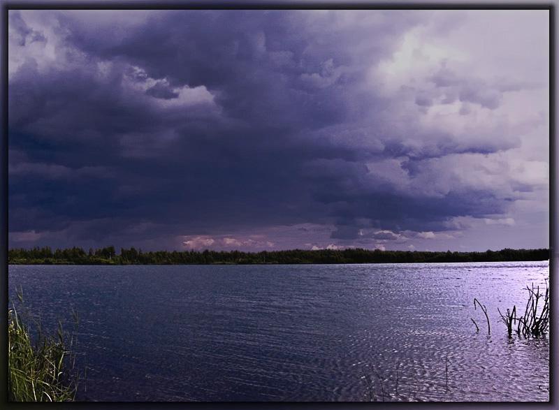 "фото ""Гроза идёт"" метки: пейзаж, облака"