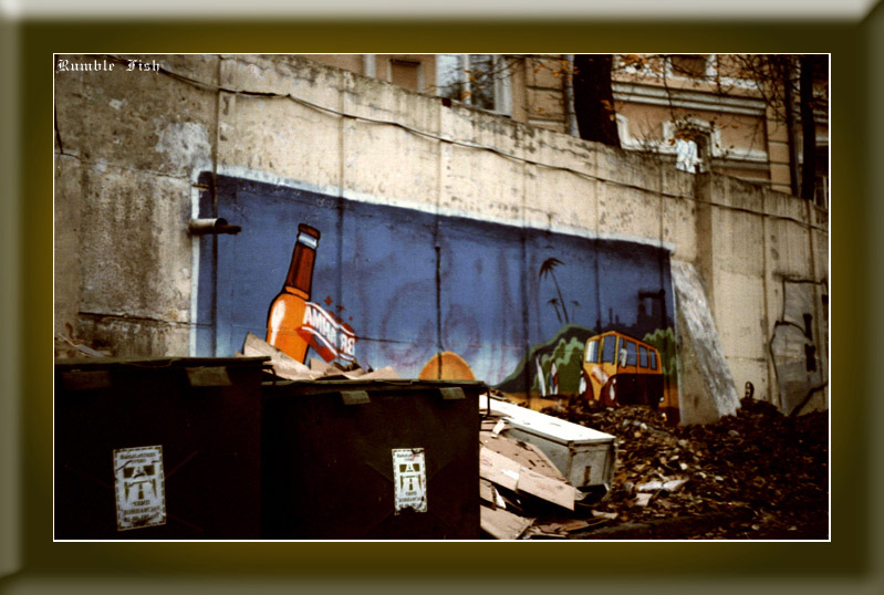 "photo ""Art at the dump"" tags: city,"