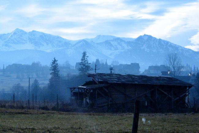 """фото """"По ленинским местам. Поронин."""" метки: пейзаж, горы, осень"""