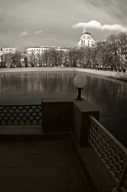 """фото """"#0329"""" метки: пейзаж, зима"""