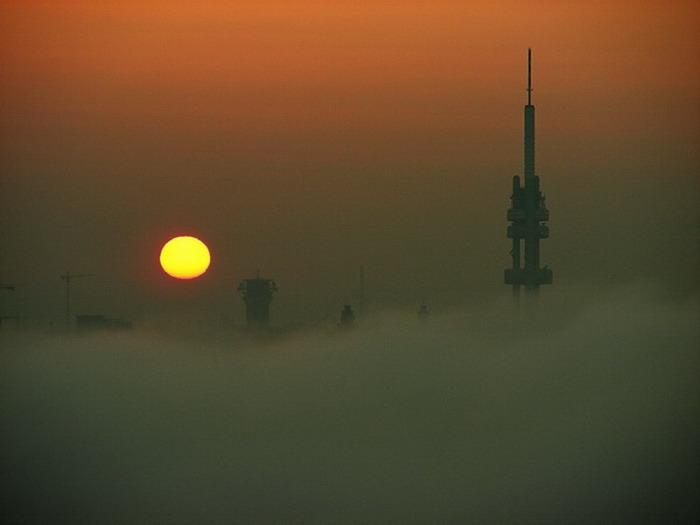 "photo ""Cолнце а мгла"" tags: city,"