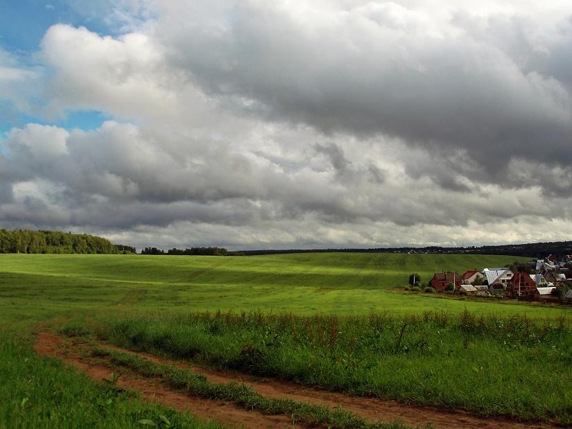 """фото """"Прилетай, туча!"""" метки: пейзаж, лето, облака"""