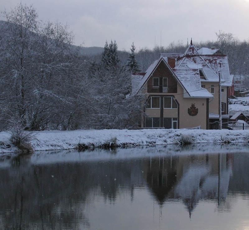 """фото """"У озера"""" метки: пейзаж, зима"""