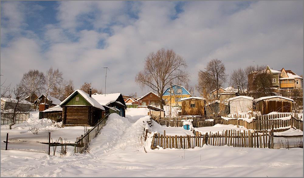 "фото ""Старая Уфа..."" метки: архитектура, пейзаж,"