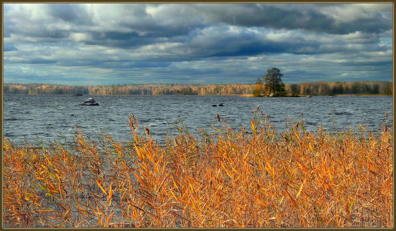 """фото """"Осень на озере"""" метки: пейзаж, осень"""