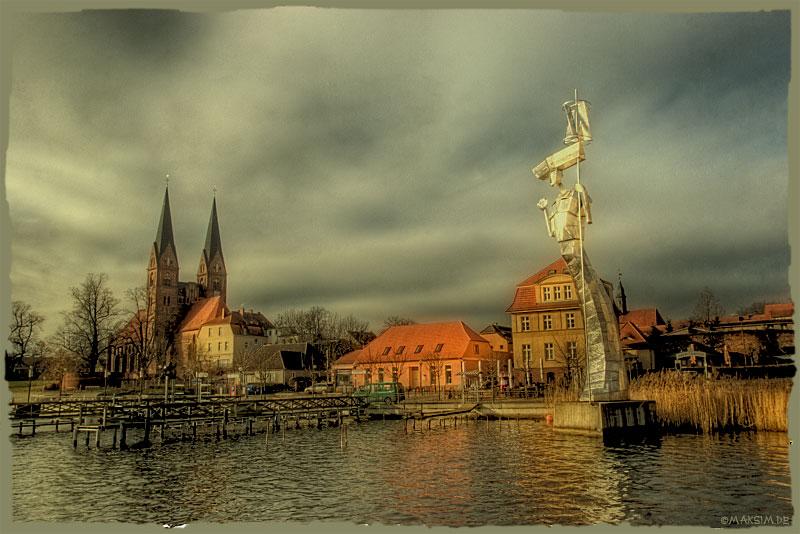 "фото ""набережная в Неуроппине..."" метки: архитектура, путешествия, пейзаж, Европа"