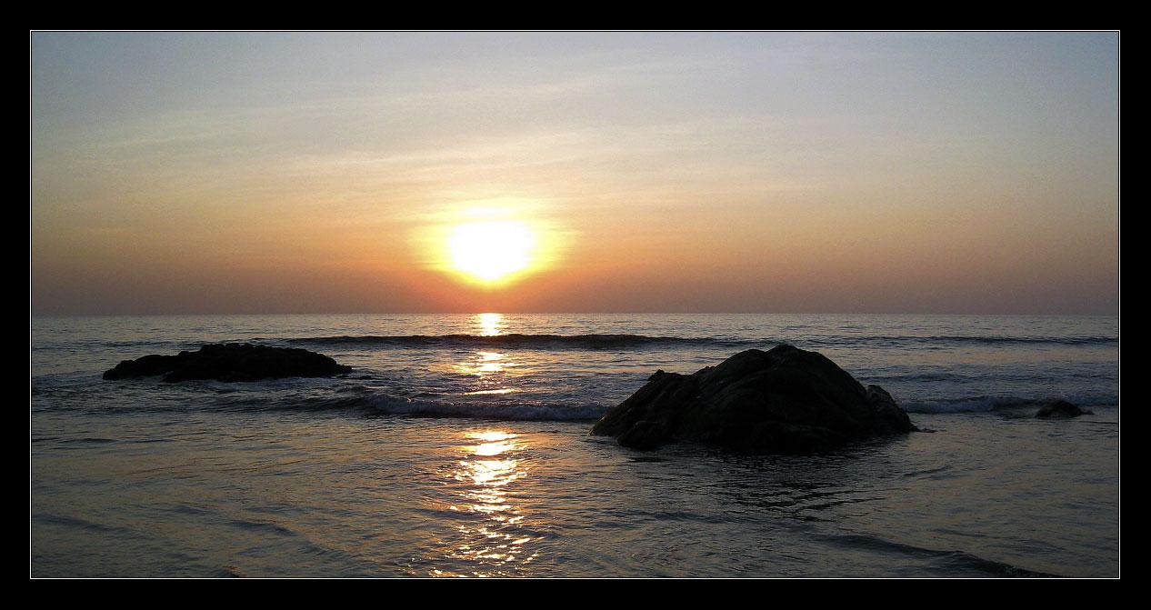 """фото """"падение солнца"""" метки: пейзаж, закат"""
