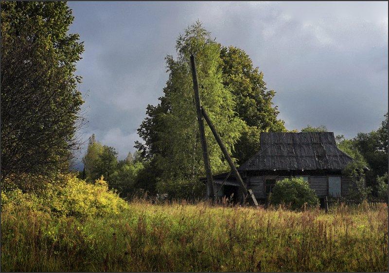 "photo ""The thrown"" tags: landscape, autumn"