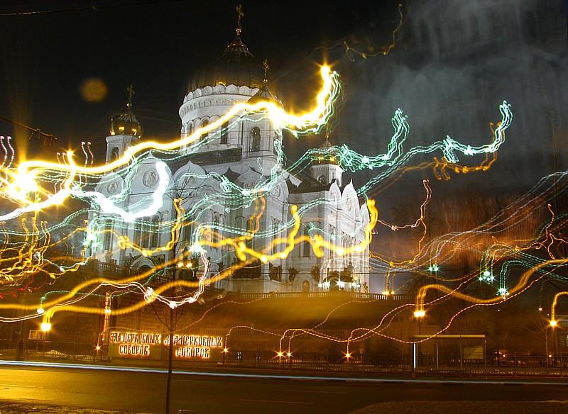 "фото ""Душа храма"" метки: архитектура, пейзаж, ночь"