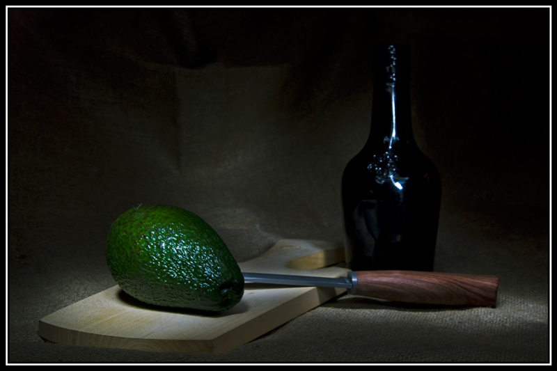 "фото ""Этюд с авокадо"" метки: натюрморт,"