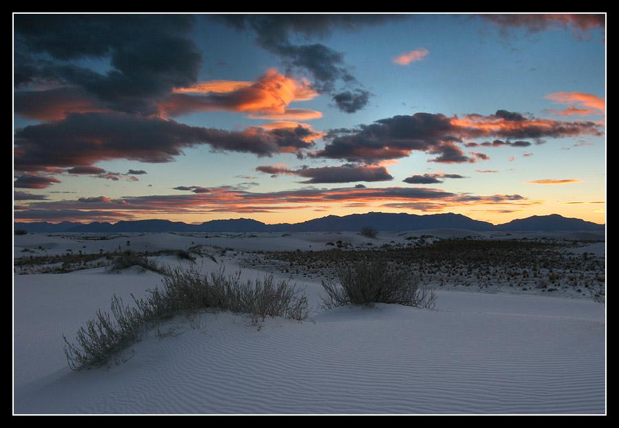 "photo ""Desert Fleet"" tags: landscape, travel, sunset"
