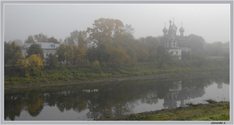 """фото """"Утро туманное"""" метки: архитектура, пейзаж,"""