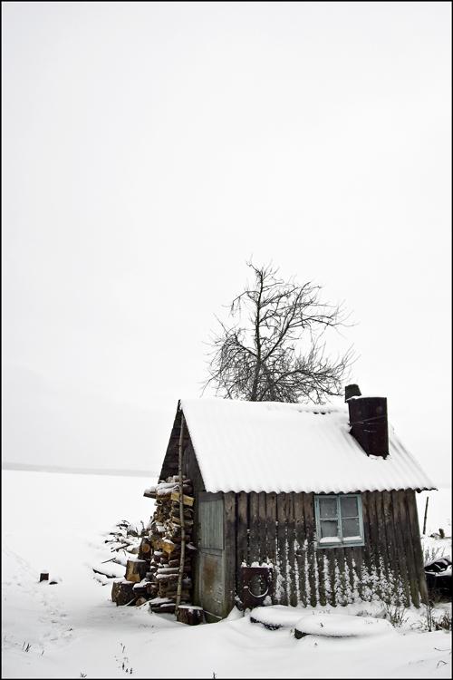 """фото """"Одиноко"""" метки: пейзаж, зима"""