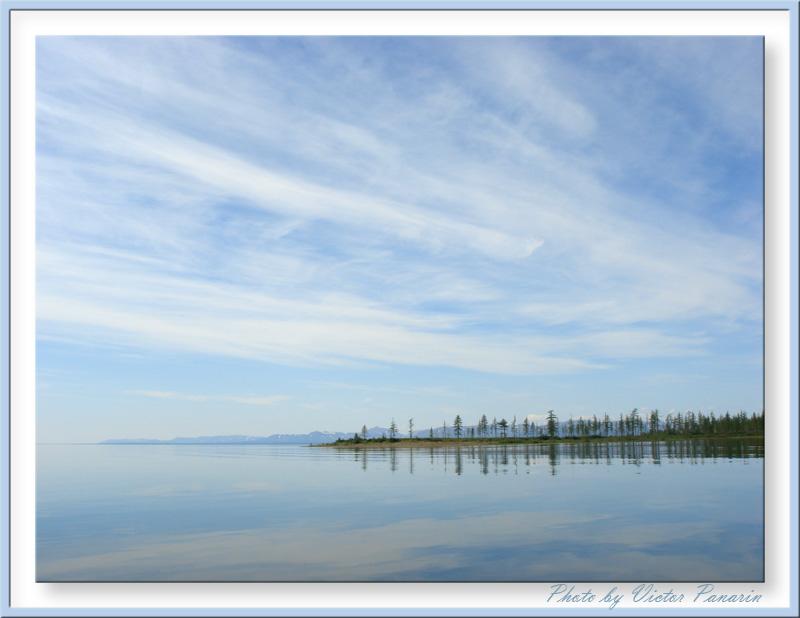 """фото """"Озеро Лама. Таймыр."""" метки: путешествия, пейзаж, вода"""