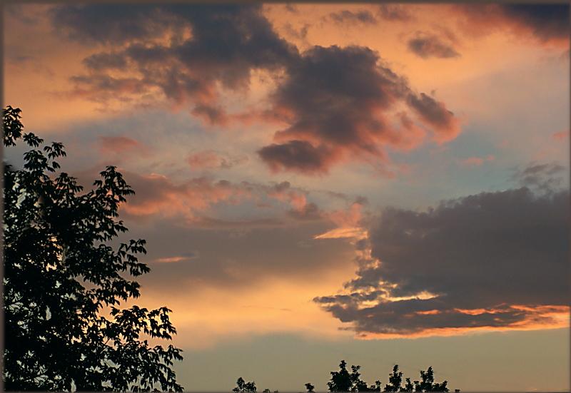 "photo ""После дождя"" tags: landscape, sunset"