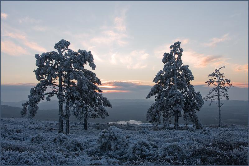 """фото """"До  завтра.."""" метки: пейзаж, зима"""
