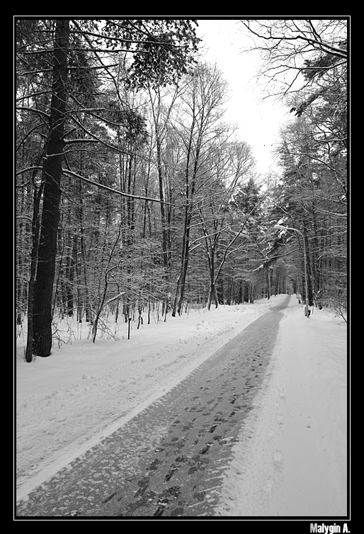 "фото ""Russian Winter"" метки: пейзаж, зима"