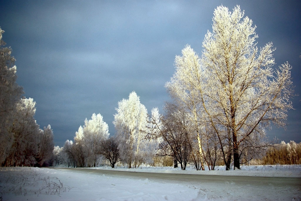 "photo ""***"" tags: landscape, clouds, winter"